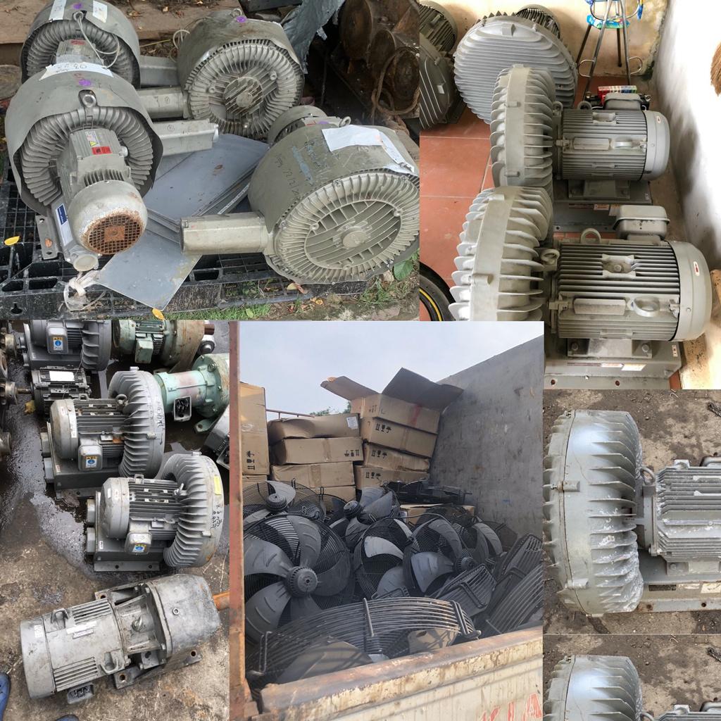 Quat công nghiệp bãi nhật 0.75kw – 380V/220V